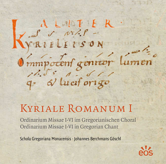 CD-Cover Kyriale Romanum I