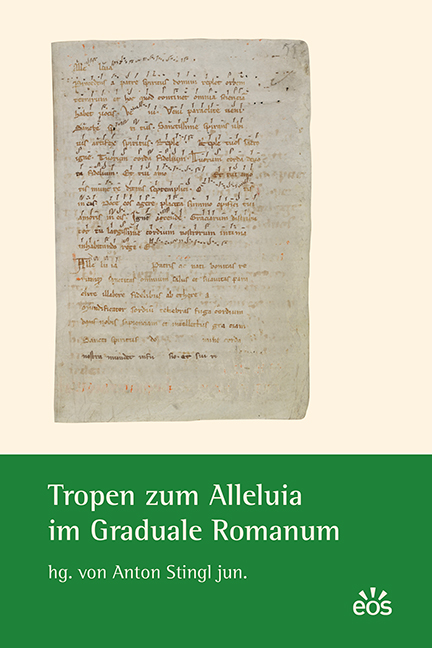 Cover: Stingl Tropen zum Alleluia